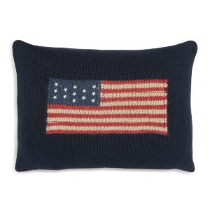 RL flag pillow